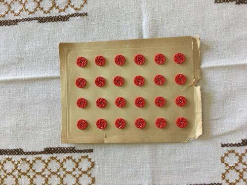 Botones de los años 30er
