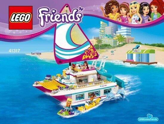 LEGO ® - Sunshine 41317-Set Friends soleil Catamaran Sunshine - Catamaran NEW SEALED d5aa82