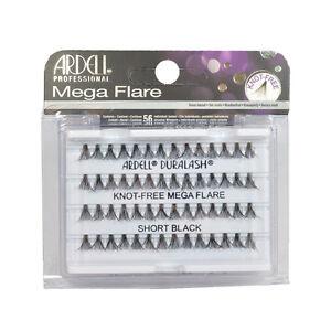 a02fe7f5ea8 Ardell #65279 Mega Flare Individual Lashes - Knot-Free - Short Black ...