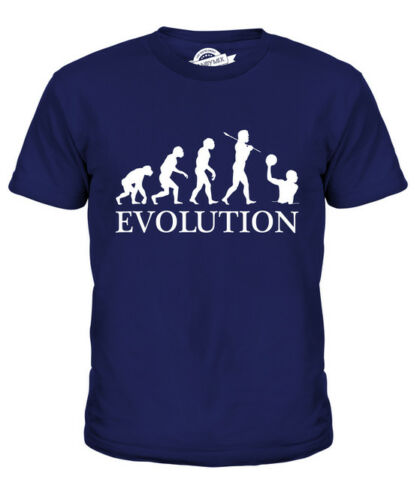 WATER POLO EVOLUTION OF MAN KIDS T-SHIRT TEE TOP GIFT CLOTHING