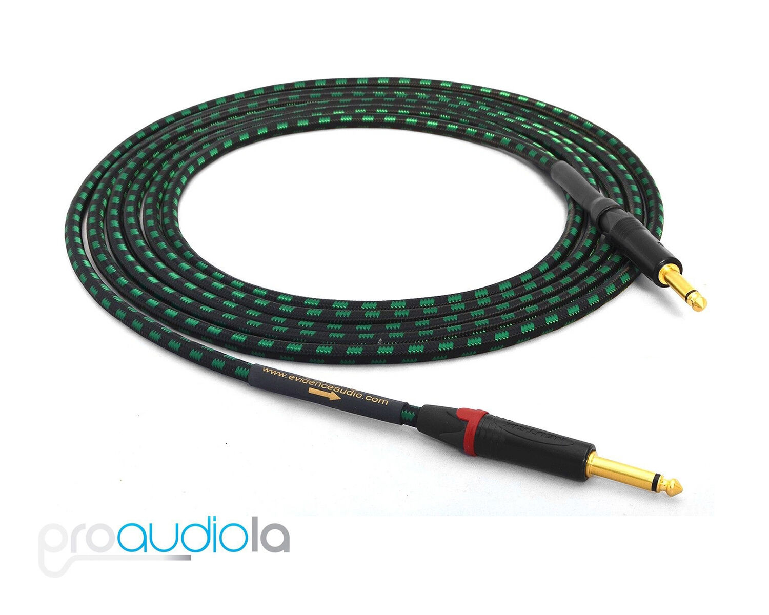 Evidence Audio Lyric HG Instrument Cable   Neutrik gold TS to TS   30 ft   9.1 m