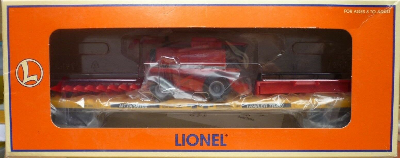 Lionel  6-17544 Flat Car 6212 With Combine