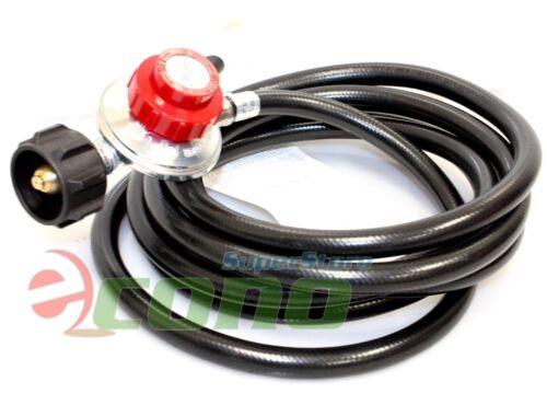 12 Feet Propane Regulator High Pressure LPG bbq Gas burner wok fryer Hose 20psi