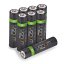miniatuur 5 - Rechargeable High Capacity AAA Batteries plus Charging Dock - Includes 8 x AAA