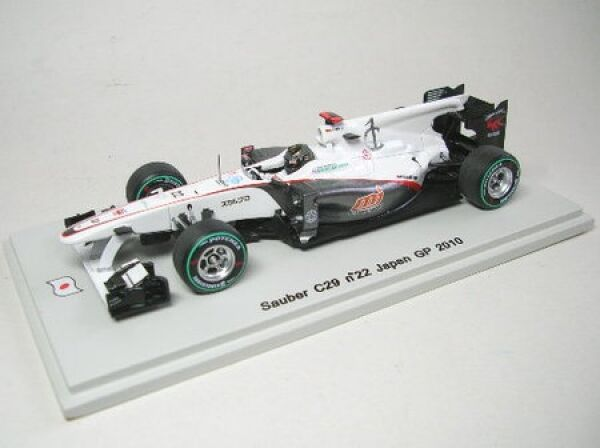 Propre C29 N° 22 N. Heidfeld Japna GP 2010