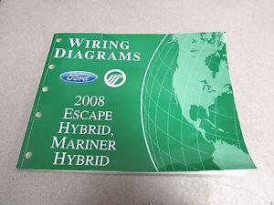 2008 Ford Escape Mariner Hybrid Wiring Diagram Service ...