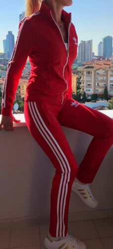 color material muy para rojo elastina de Adidas agradable de mujer adidas Impresionante traje qZ4YznP