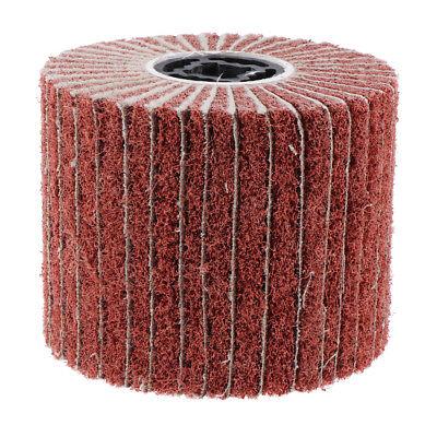 Abrasive Wire Drawing Wheel Brush Drum Burnishing Polishing #600Grit