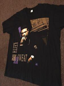 Vintage Keith Sweat R&B Rap Shirt 90s Screen Stars Promo T 1991 Winterland