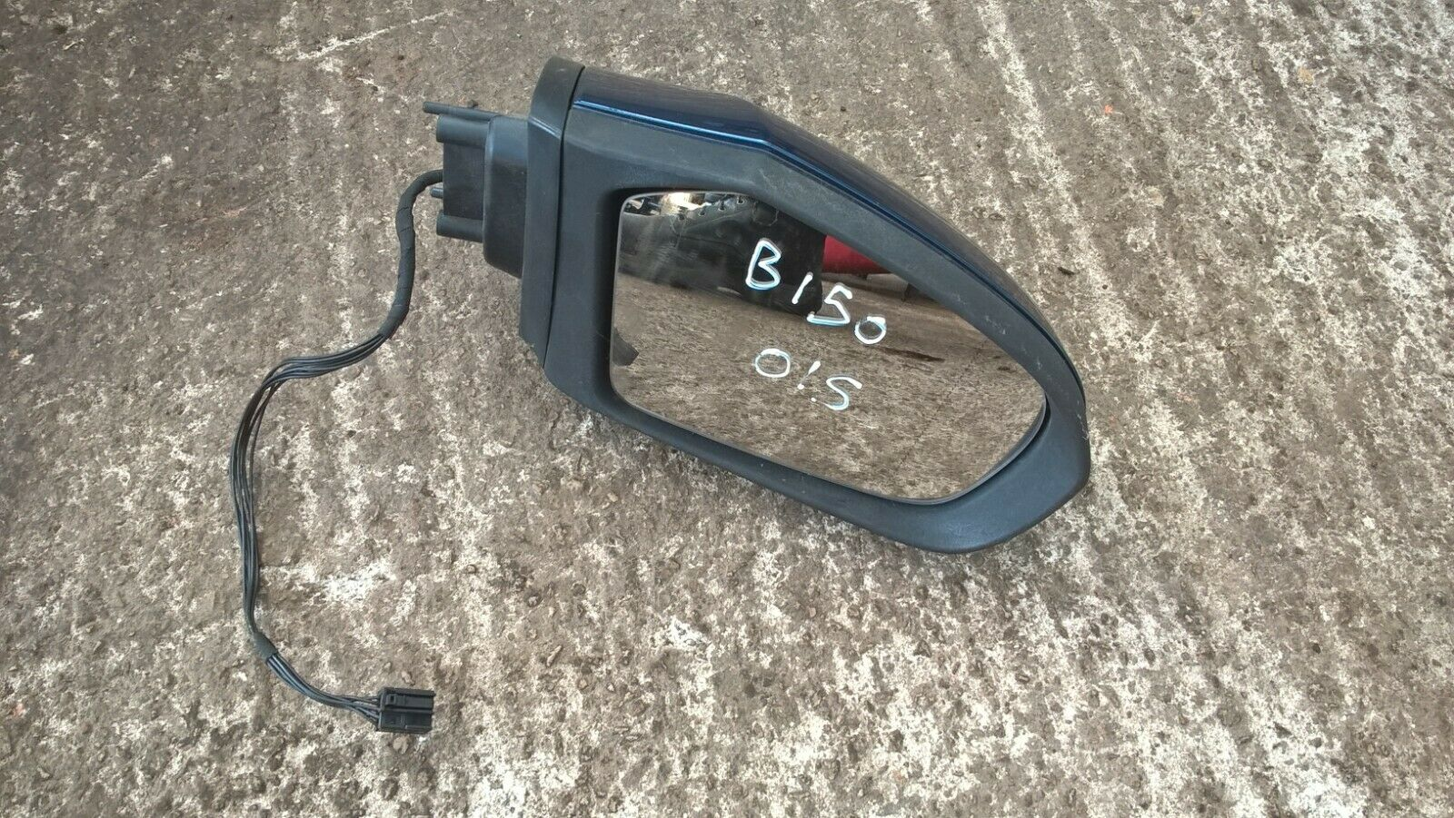 Mercedes B Class W245 2005-2008 Black Door Wing Mirror Cover O//S Drivers Right