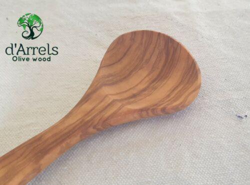 Cucharas de cocina en madera de olivo