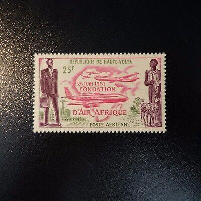 Burkina Faso Briefmarken Haute Volta Post Luft Pa N°4 Air Afrika Neuf Luxe Mnh QualitäTswaren