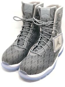 low cost 4be7e 4773b Image is loading Air-Jordan-Future-Boot-Boots-Cool-Grey-Blue-