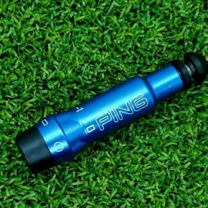 Ping G400/G/G30 MAX Shaft Adapter .335 Tip Driver & Woods RH Blue 7075-Aluminun