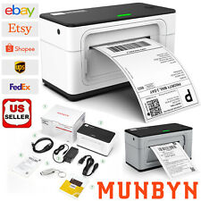 Munbyn Shipping Label Printer 4x6 Usb Thermal Label Maker For Winmacpclaptop