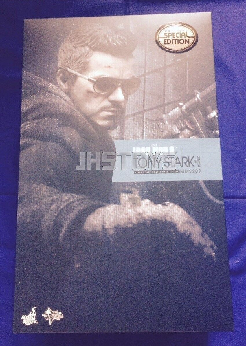 Hot Toys 1/6 Iron Man 3 Tony Stark The Mechanic Exclusive Special Edition MMS209