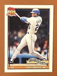 1991-Topps-Ken-Griffey-Jr-Card-790-EX-MINT-Seattle-Mariners-HOF