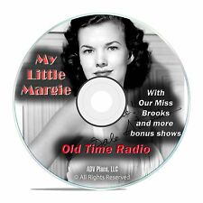 My Little Margie, 971 Classic Sitcom Comedy Old Time Radio Shows OTR, DVD CD G06
