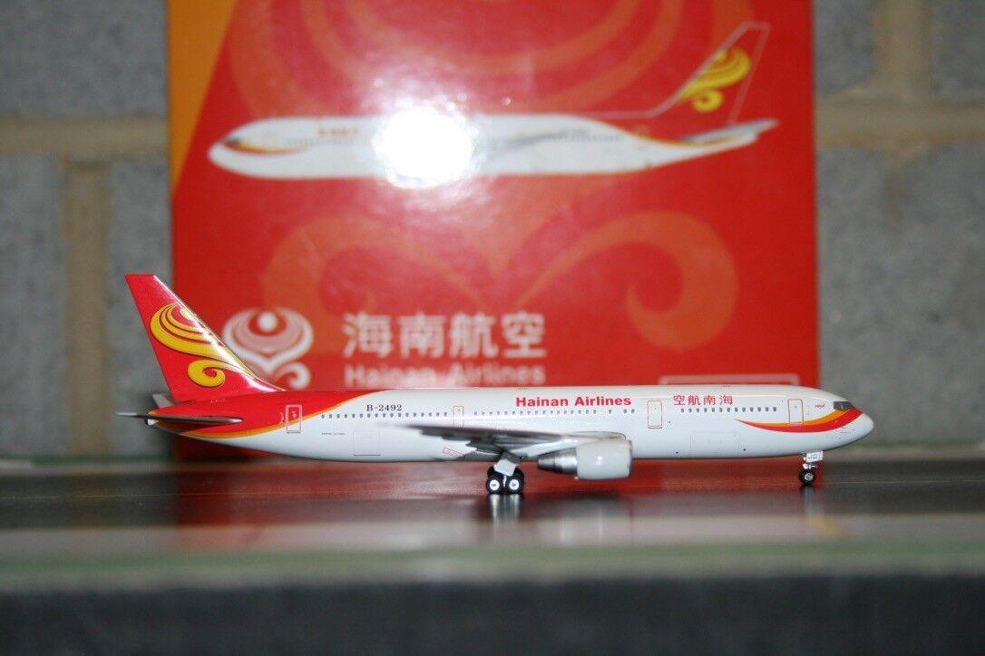 Phoenix 1 400 Hainan Boeing 767-300 B-2492 (PH10494) Fundición Modelo de Avión