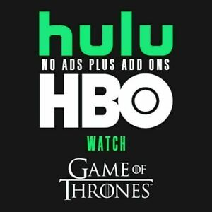 Hulu-Premium-No-Ads-HBO-2-Years-Warranty-10-Sec-Delivery