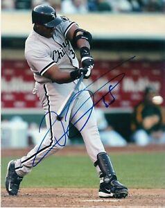Frank-Thomas-Autograph-Signed-8x10-Photo-HOF-White-Sox-REPRINT