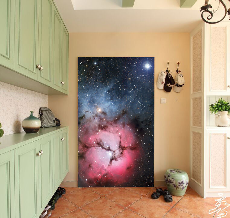 3D Etoile Nebula 31 Photo Papier Peint en Autocollant Murale Plafond Chambre Art