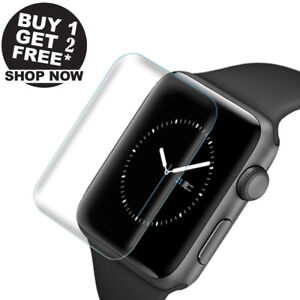 3pcs Ultra Thin Screen Protector 3d Full Cover For Apple Watch Series 4 44mm Ebay