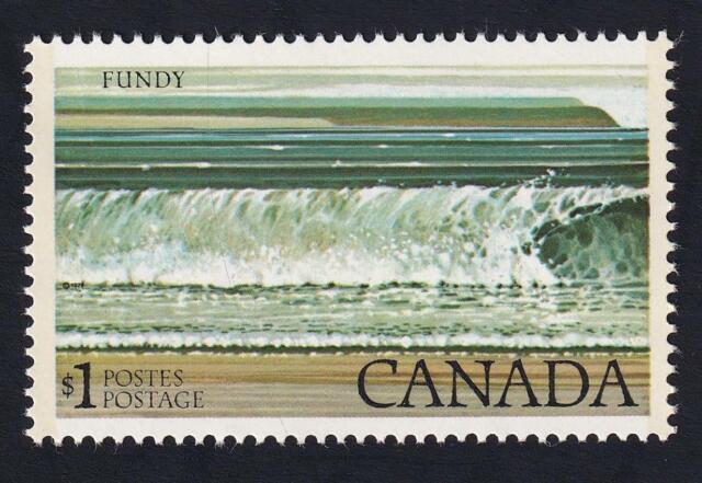 Canada MNH 1979 sc#726 National Parks definitive $1 Fundy