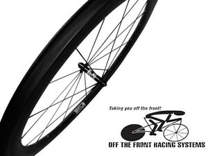 50mm-Deep-U-Aero-Section-25mm-Wide-700c-Carbon-Clincher-Wheelset-11-sp