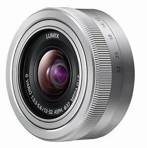 Panasonic-Lumix-G-Vario-12-32-mm-OIS-Neuware-vom-Fachhandler-silber-bulk