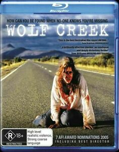 WOLF-CREEK-Blu-Ray-BRAND-NEW-amp-SEALED-REGION-B