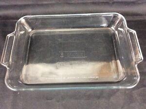Anchor Hocking Usa Glass 3 Qt Bake Pan 9 X13 X 2 Casserole