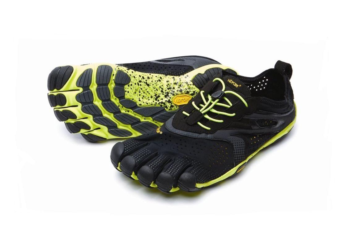 VIBRAM Five Fingers V-Run Men's Vibram Schuhe 16M3101 schwarz/Yellow NEU