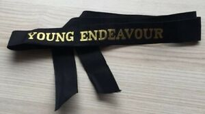 H-M-A-S-YOUNG-ENDEAVOUR-GENUINE-RAN-TALLY-BAND-220-SHIPS-NAMES-AVAILABLE