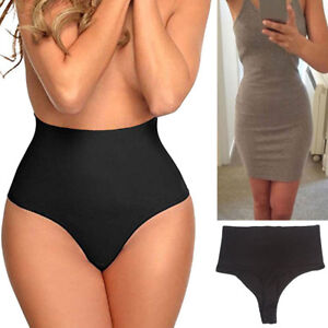 d18db988e3 Image is loading US-High-Waist-Trainer-Cincher-Tummy-Control-Panties-