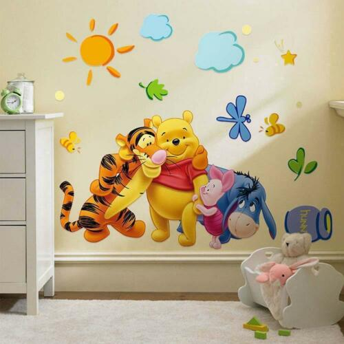 Winnie The Pooh Wall Stickers Nursery