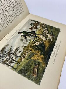 Thoughts-Upon-Hare-And-Fox-Hunting-Book-By-Peter-Beckford-16-Coloured-Engravings