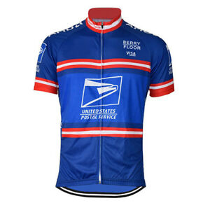 2004-USPS-TDF-Cycling-Jersey-Retro-Road-Pro-Clothing-MTB-Short-Sleeve-Bike
