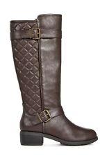 Just Fab Ejana Boots - Brown UK 7 EU 40 JS32 26