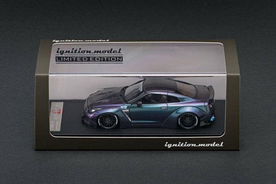 1 43 fuerza de encendido Nissan Skyline GTR R35 LB-funciona web especial Peako IG1192