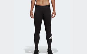 Detalles de Adidas Leggings Pantalones de Chándal Mujer Medias DU0005 Apretado Negro Divisa