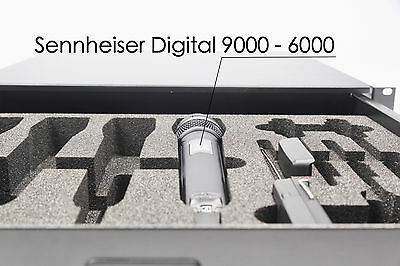 Cases, Racks & Taschen Pro-audio Equipment Suche Nach FlüGen 2he Sennheiser Digital 9000-6000 Inlay; Schaumstoffeinlage; Foam Inlay äRger LöSchen Und Durst LöSchen