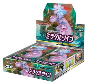 Pokemon Tarjeta Game Sun & Moon Expansion Pack milagro doble caja Japón importado NUEVO