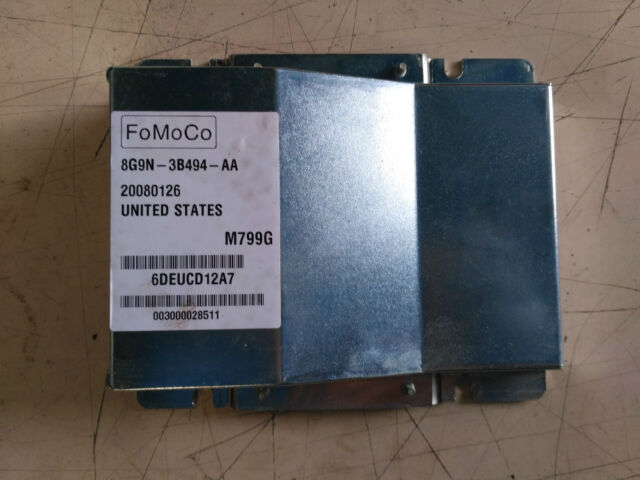 8G9N-3B494-AA 8G9N 3B494 AA S Max 2 ECU module Ford Mondeo mk4