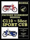 Honda Motorcycles Workshop Manual C110 1962-1969 by Honda Motor (Paperback, 2009)