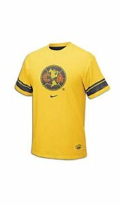5698a0ab731 Nike Club America DF 2009 - 2010 Distressed Badge Fan Soccer Shirt ...
