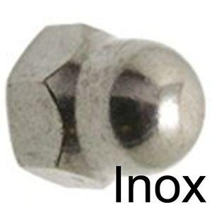 INOX A2 M5 4 ECROU BORGNE