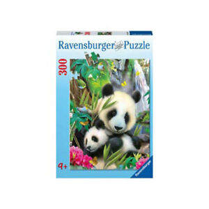 Ravensburger Cuddling Pandas Puzzle 300 pieces * NEW jigsaw panda bear baby mum