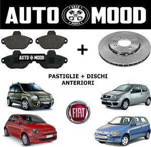 Front Brake Pads Fiat Panda 0.9 0.9 Natural Power 0.9 4x4 1.2 1.2 LPG 1.2 4x4