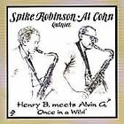 Al Cohn - Henry B. Meets Alvin G. Once in a Wild (2010)